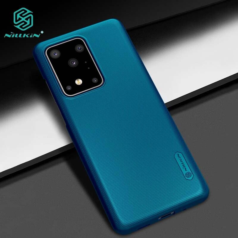 Para Samsung S20 Ultra caso Coque NILLKIN mate escudo cubierta trasera de PC duro para Samsung Galaxy S20 Ultra caso Funda