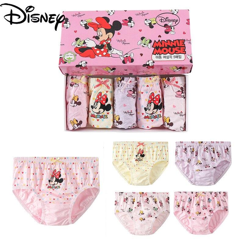 cuecas da disney originais calcinhas da minnie roupas intimas de algodao para meninas