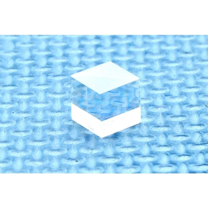 1 шт. 12,5 мм диаметр 650 нм красный PBS прозрачный поляризационный луч разделитель куб лазер линза