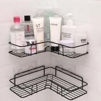 wrought iron storage rack tripod bathroom punch free corner shelf bathroom utensils kitchen bathroom corner rack