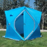 """Утепленная трехслойная палатка типа """"Куб"""", для зимней рыбалки. #1"""