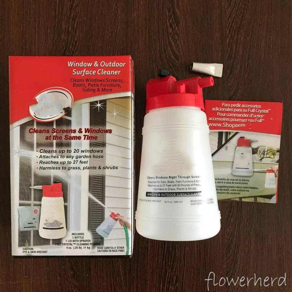 Cleaning Watering Can Window & Outdoor Surface Cleaner Glass Cleaning Spray Bottle Car Wash Cleaning Powder Sprayer Garden Tools