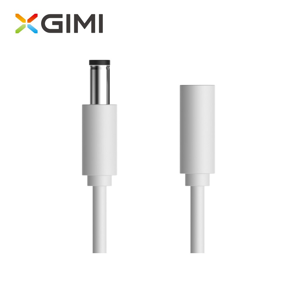 Accesorios para proyector XGIMI cable de extensión de alimentación CC adecuado para todos los proyector xgimi, XGIMI H3/XGIMI H2/XGIMI Z6