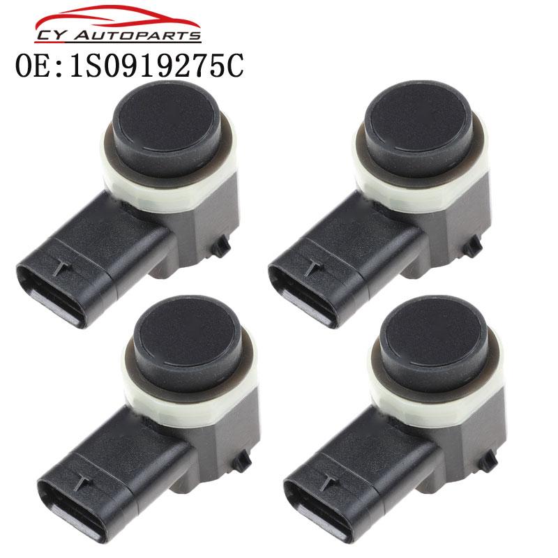4PCS New Car Parking Sensor PDC For Skoda Audi VW Seat 1S0919275C 4H0919275 3C0919275