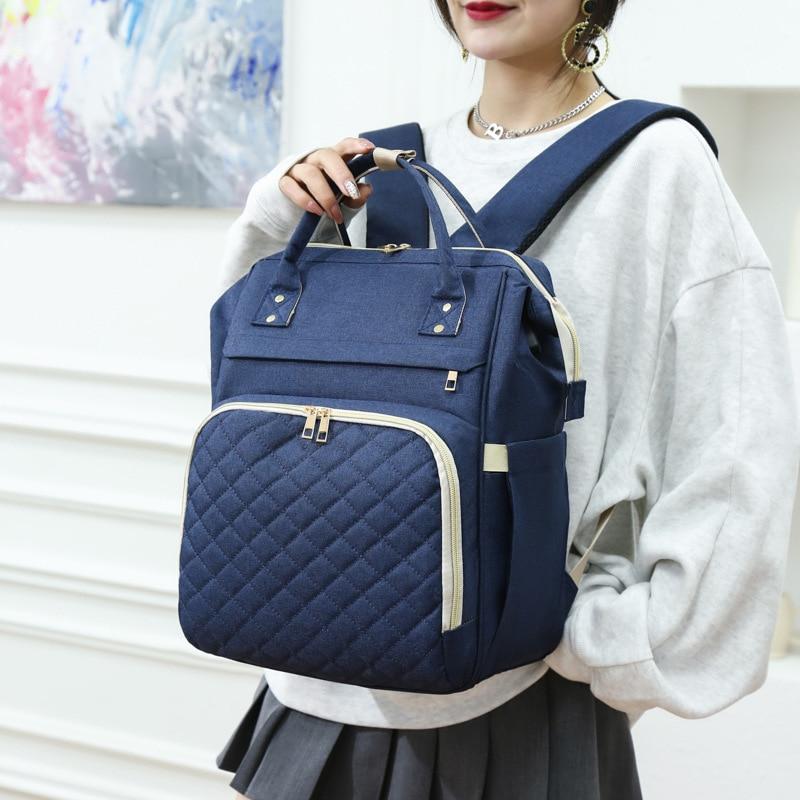 Nursing Bag Large Capacity Mommy Baby Diaper Bag Travel Diaper Backpack for Stroller Outdoor Travel