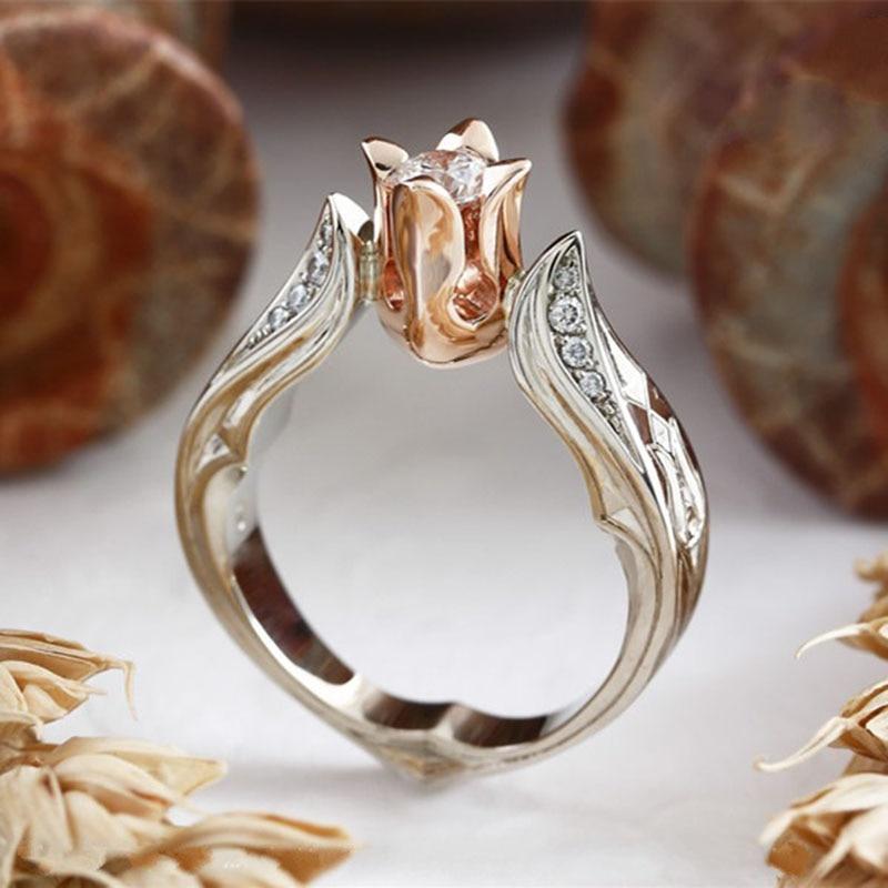 YOBEST-bague de mariage en zircon argent super brillant pour femmes, bijoux, vente en gros, cadeau