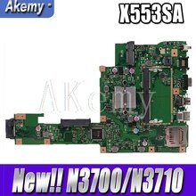 New ! Akemy X553SA Motherboard For ASUS X553SA X553S X553SA F553S A553S  Mainboard 100% test OK W/  N3700/N3710 CPU