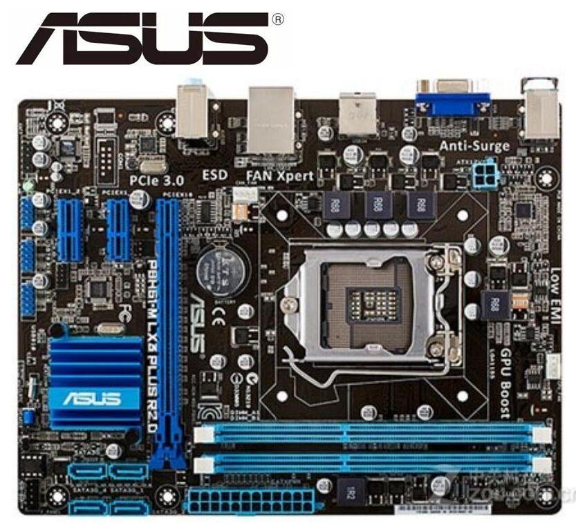 ASUS P8H61-M LX3 más R2.0 original placa base intel DDR3 LGA 1155...