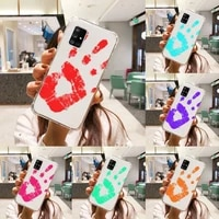 thermal heat induction phone case transparent for samsung a51 a50 a71 a70 a81 m60s note s21 s 20 10 9 8 11 e plus ultra
