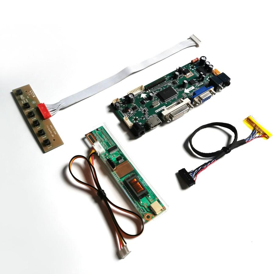 ل LP154W01-TLA1/TLA2 LCD رصد لوحة DVI VGA M.NT68676 شاشة تحكم محرك مجلس 1280*800 15.4