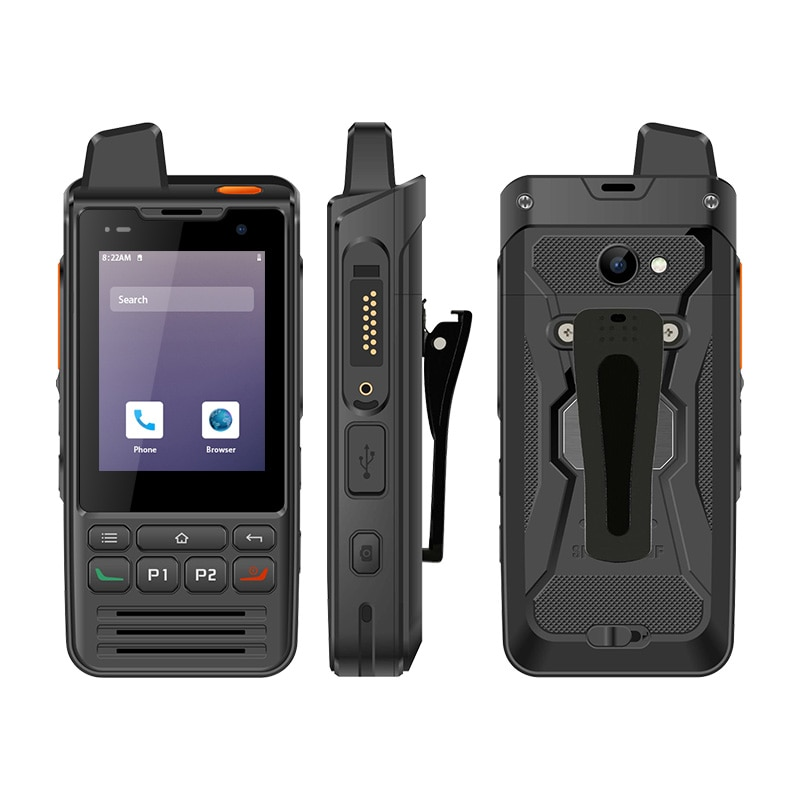 Android 9.0 F60 4G Smartphone Zello Walkie Talkie 1GB RAM 8GB ROM Moblie Phone IP68 PTT Touch Screen FM Radio GPS SOS Wifi enlarge