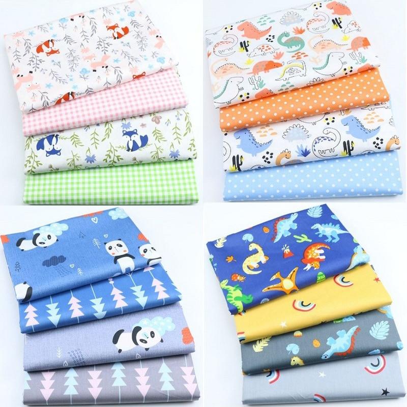 Reine Baumwolle Cartoon Gedruckt Stoff Handgemachte Diy Collage Tuch Gruppe kinder Bett Fabricfabric durch die hof