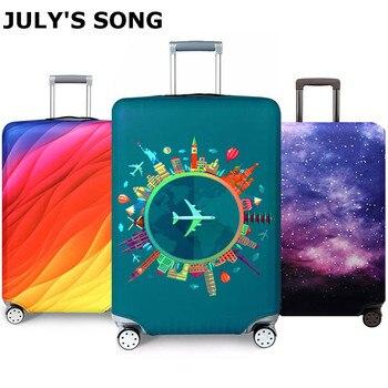 Plus épais voyage bagages housse de protection valise housse voyage accessoires élastique housse de bagage appliquer à 18-32 pouces valise