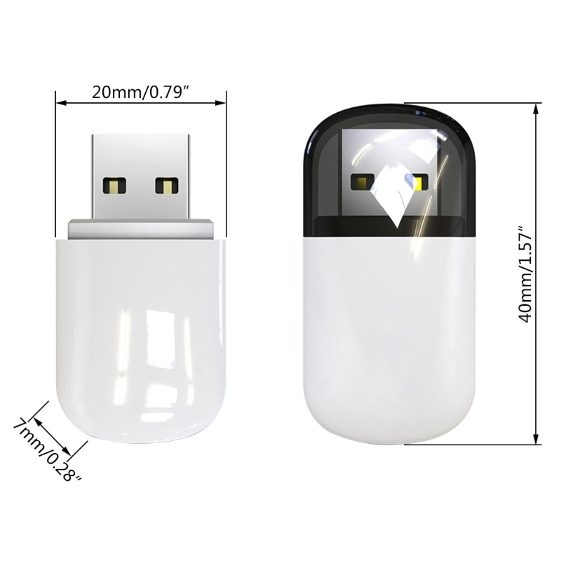650M High Speed MIMO USB Wireless Network Card WiFi Dual Band Bluetooth 4.2 Adapter enlarge