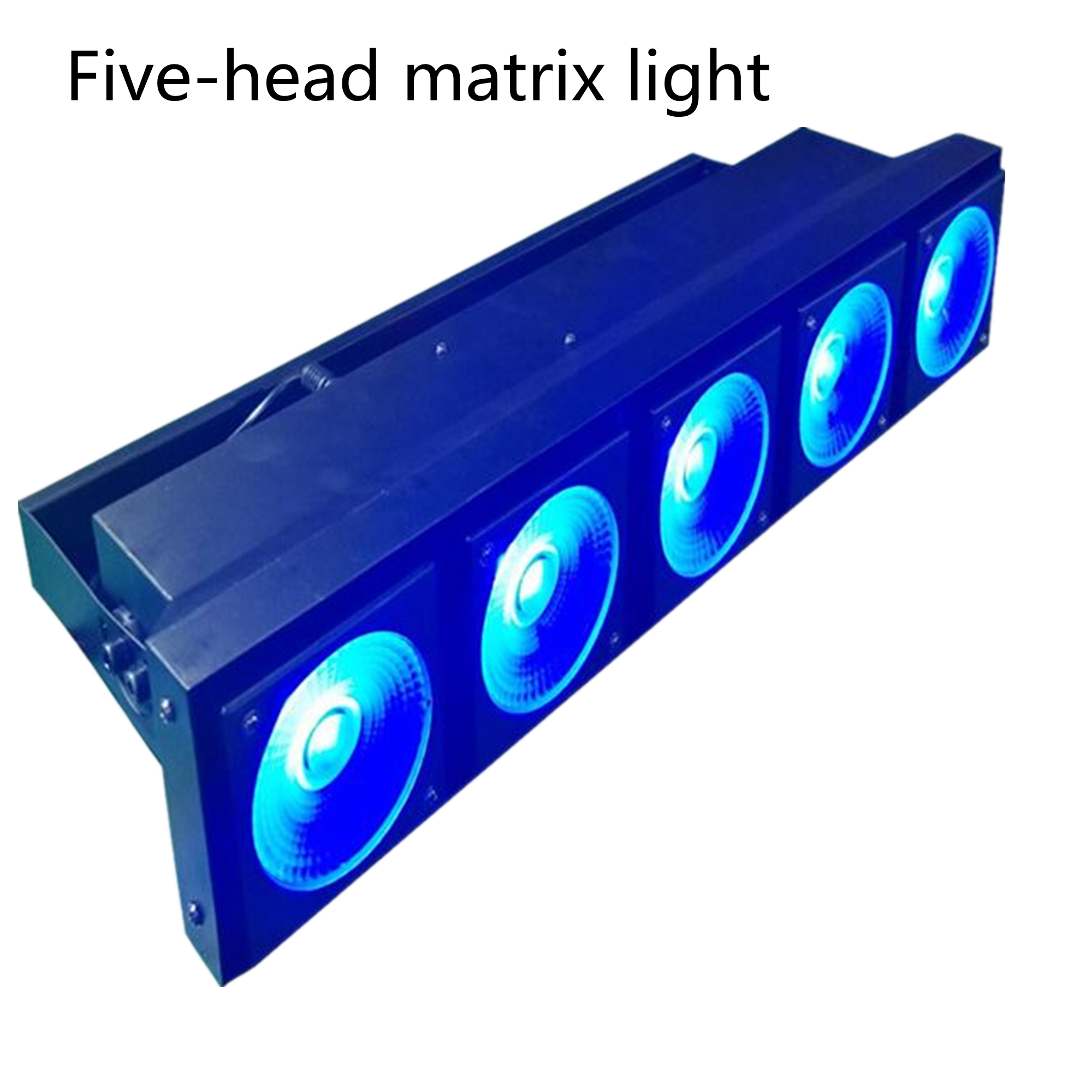 Five-head matrix lights can be used for professional lighting such as clubs and family gatherings
