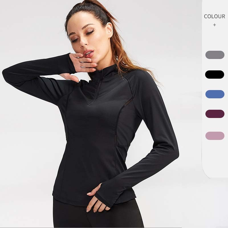 2021 New Sportwear Fashion T Shirt Women Top Running Shirts Solid Color T-shirt Quick Dry Fitness Gym Tops