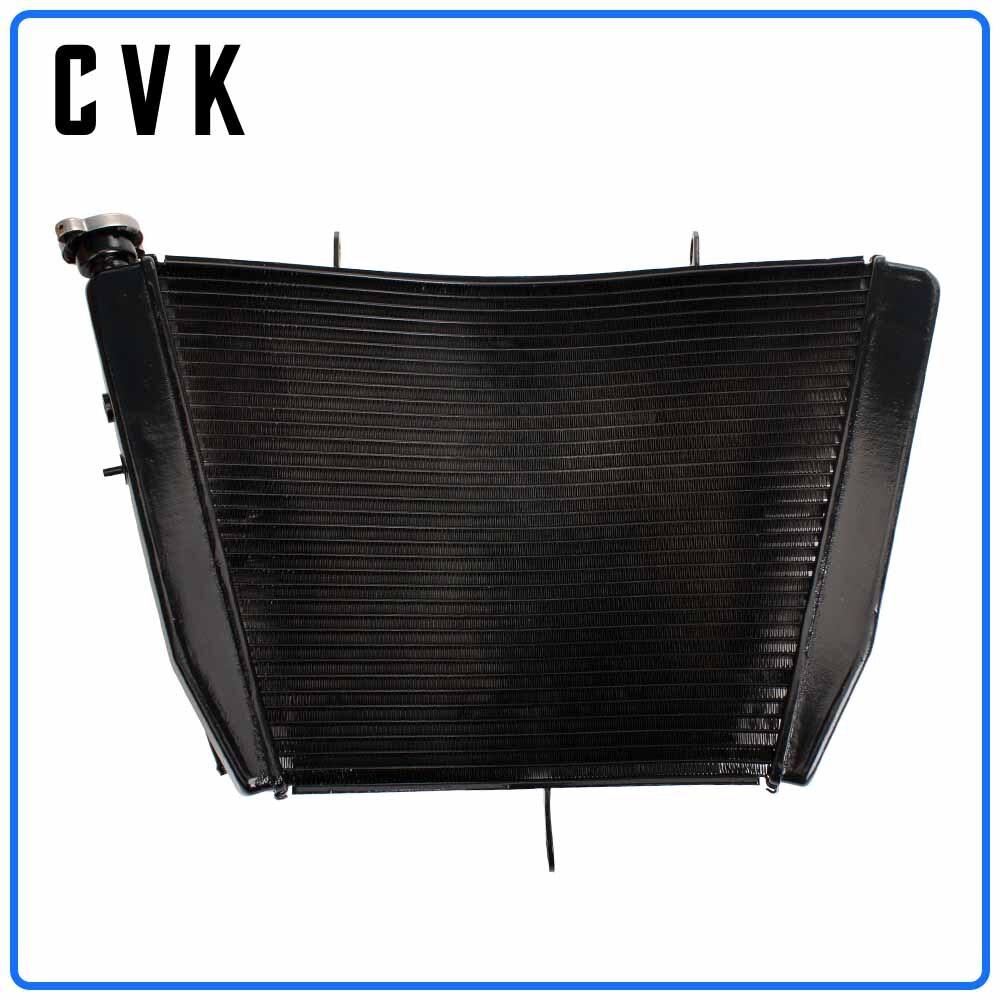 CVK de radiador de aluminio enfriador de tanque de agua de enfriamiento para GSXR600 GSXR750 2006, 2007, 2008, 2009, 2010, 2011 GSX-R GSX 600 R 750-06 11