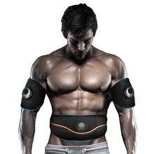 Elektrische Massager Buikspier Trainer Ems Spierstimulator Been Vetverbranding Fitness Body Massage Afslanken Riem