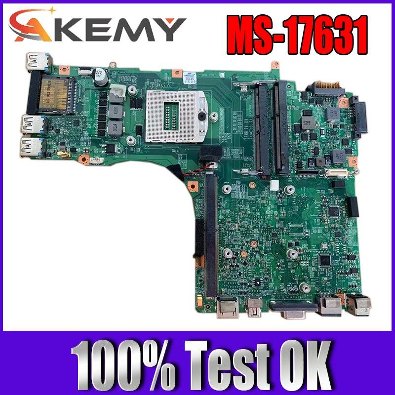 AKEMY ل MSI GT70 MS-1763 اللوحة المحمول MS-17631 VER:2.0 PGA947 I7 المعالج اللوحة الرئيسية 100% اختبارها