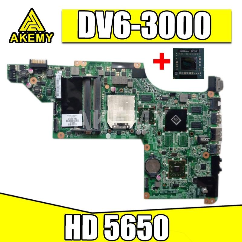 عنصر جديد ، 603939-001 DA0LX8MB6D1 ل HP بافيليون DV6 DV6-3000 اللوحة الأم للكمبيوتر المحمول ، HD 5650 + معالج مجاني