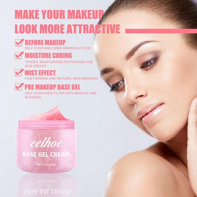 Фото - Eelhoe Facial Base Primer Makeup Oil Control Matte Make Up Face Base Cream Professional Pores Foundation Primer Cosmetic Tools make up for ever hydra booster step 1 primer 24h perfecting and softening base