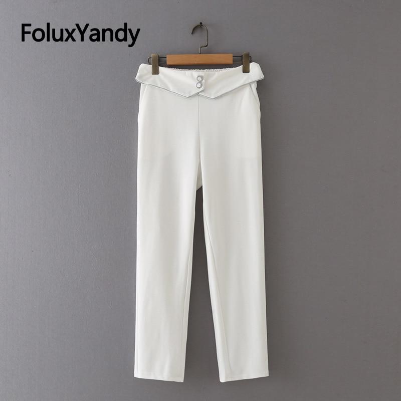 Новые модные женские брюки, женские брюки, повседневные облегающие эластичные брюки-карандаш 3XL, 4XL, 5XL, черные, белые, KKFY5642