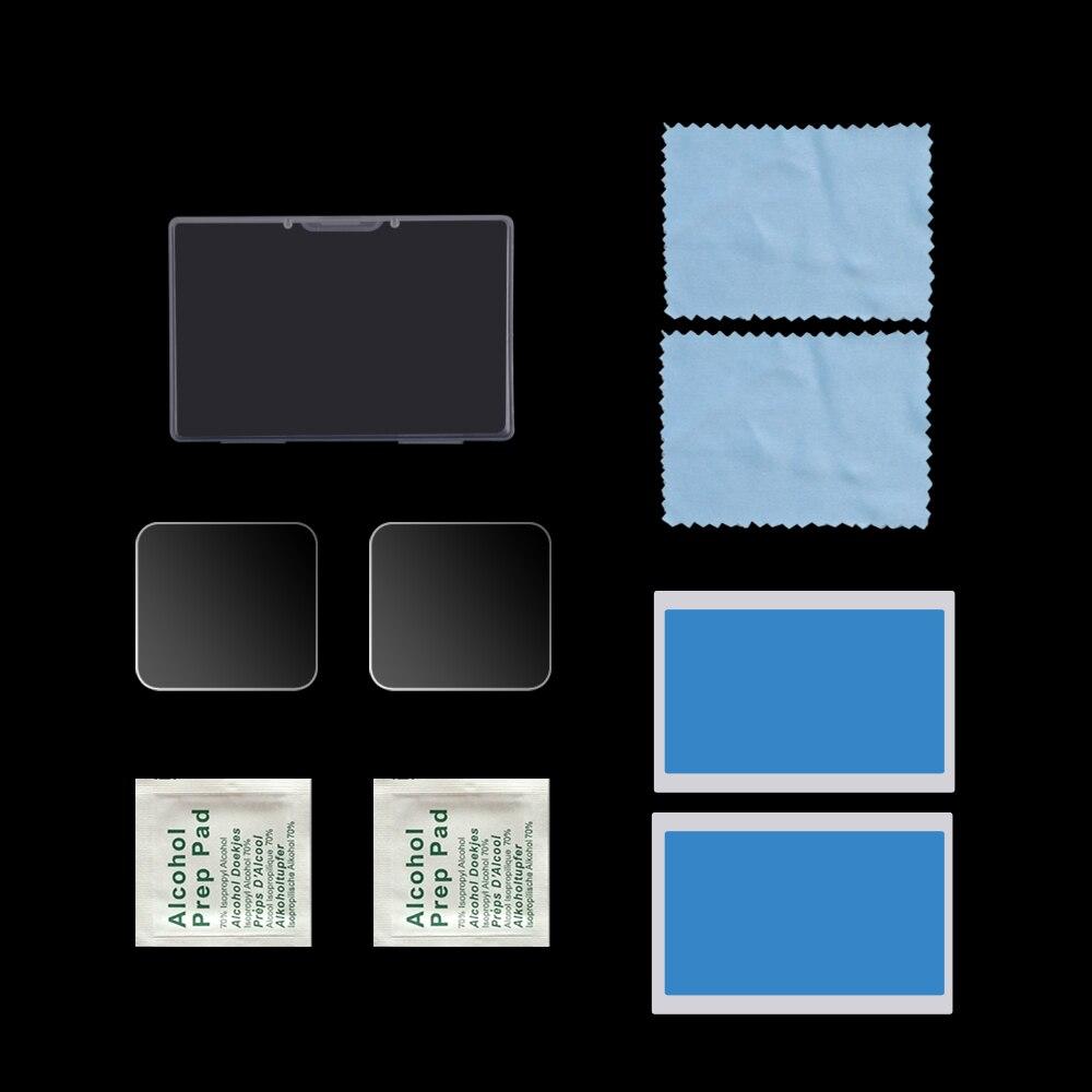 Para Insta360 ONE R 9H 2.5D HD lente de cámara transparente/pantalla LCD película protectora de vidrio templado Premium para Insta360 ONER