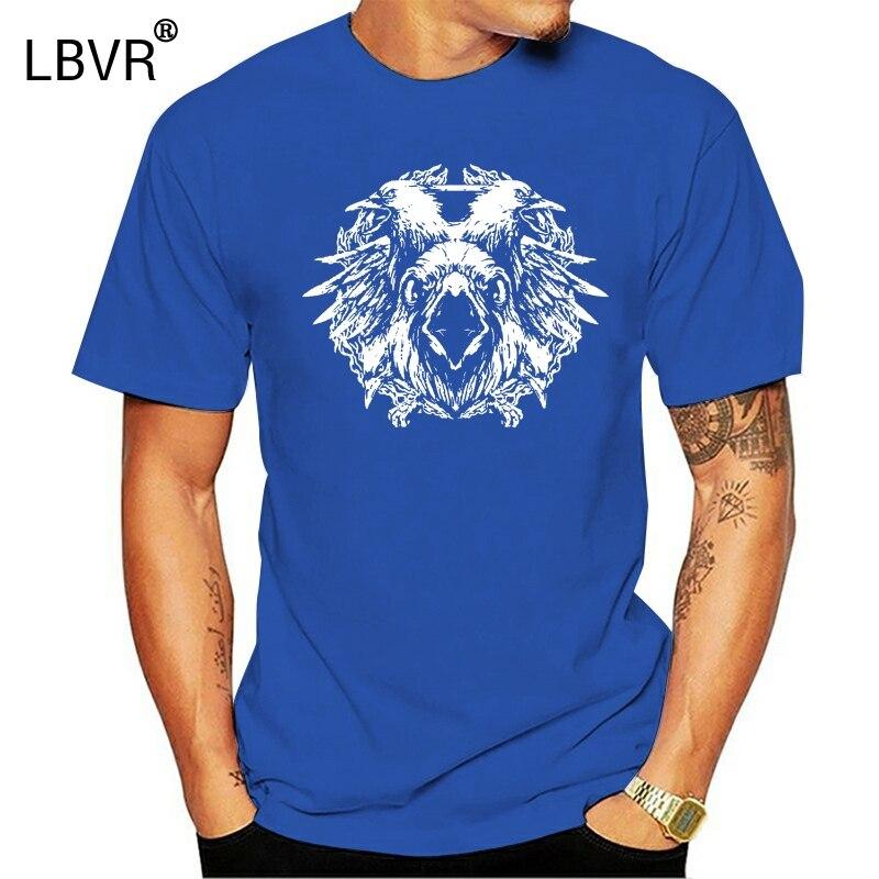 Design de arte tripla dos homens t camisa raven goth rock metal morte pesada tatuagem mais novo 2019 homens moda verão design camiseta