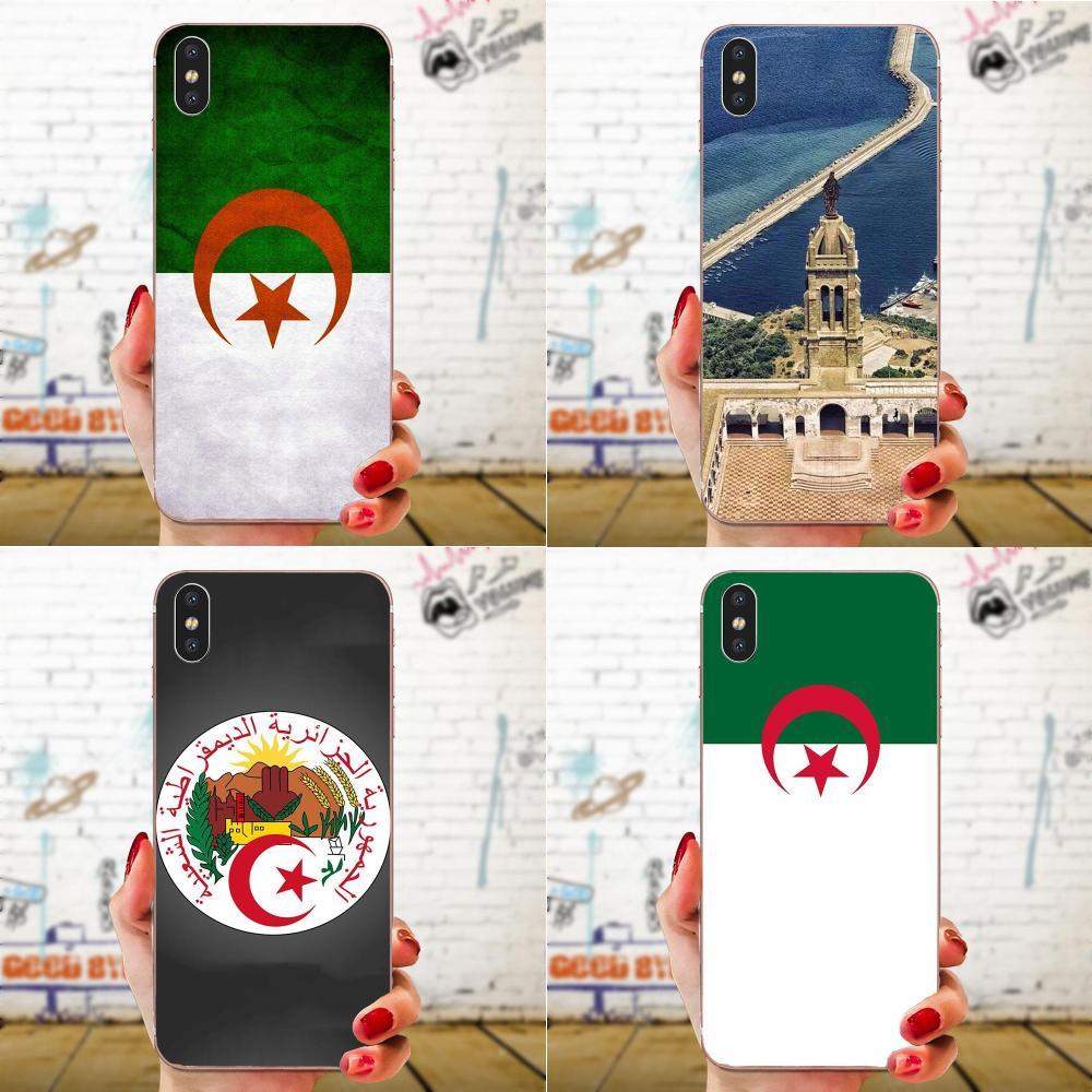 Carcasa Popular colorida con la bandera de Argelia para Xiaomi Redmi Note 2 3 3S 4 4A 4X 5 5A 6 6A Pro Plus