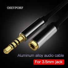 3.5mm Audio Extension Cable Jack 3.5mm Male to Female Earphone Extender Cables Car Aux Cord for Head