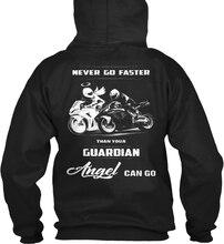 long sleeve Never Go Faster Than Your Angel Can Go(3) Men Women Streetwear Hoodies Sweatshirts