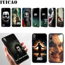 Joker Joaquin Phoenix film étui pour iphone 11 Pro Max XR X XS Max 6 6S 7 8 Plus 5 5S SE couverture de téléphone