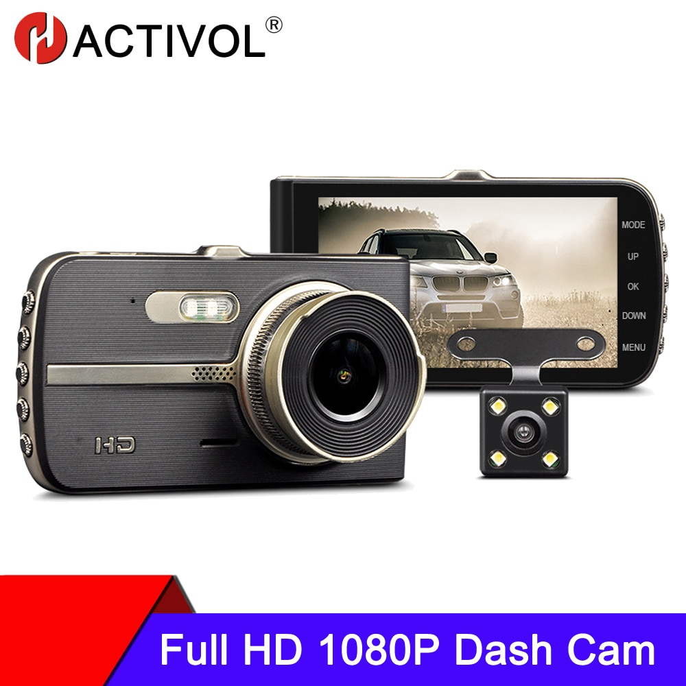 Car camera DVR Dash Camera Rear View Dual Camera 1080P 4