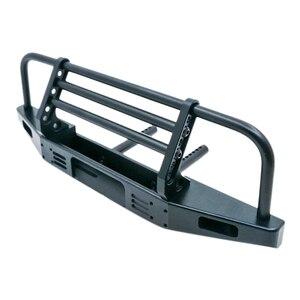 Universal Metal Front Anti-Collision Bumper for 1/10 Rc Crawler Car Traxxas Trx4 Defender Bronco Axial Scx10 90046 90047