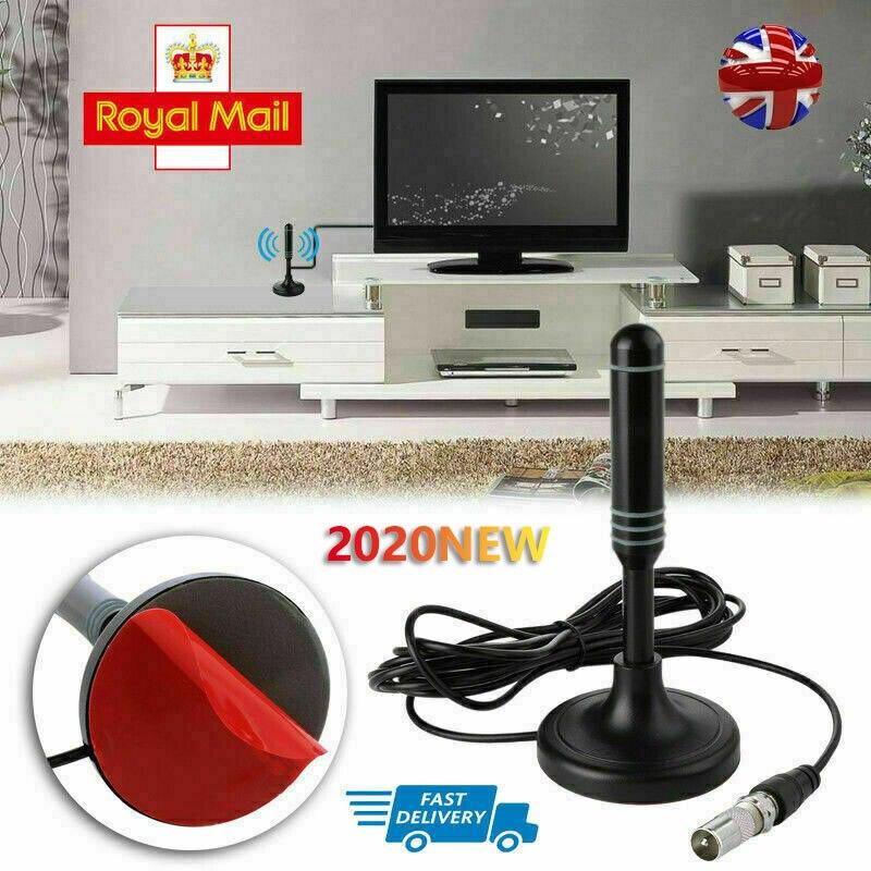 HD1080P Digitale Indoor Amplified TV Antenne HDTV mit Verstärker VHF/UHF 200 Meile