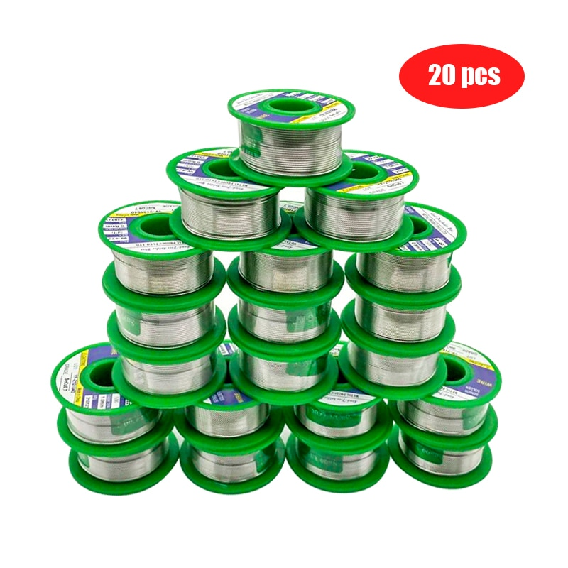 50g Lead Free Solder Wire With Rosin Core For Electrical Soldering Solder Flux Soldering Iron Tools
