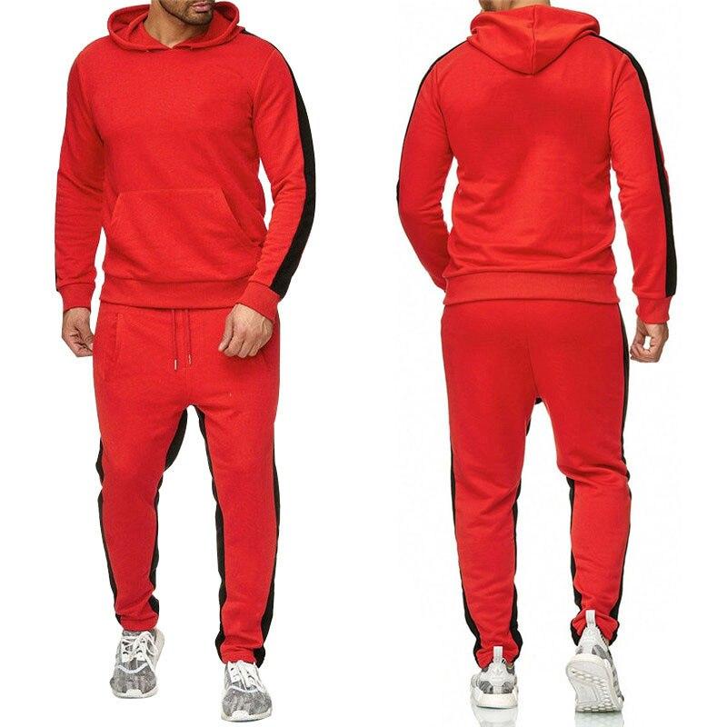 Мужские кофта с капюшоном на молнии, кофта с капюшоном и брюки большого размера с графическим принтом, весна-осень 2021