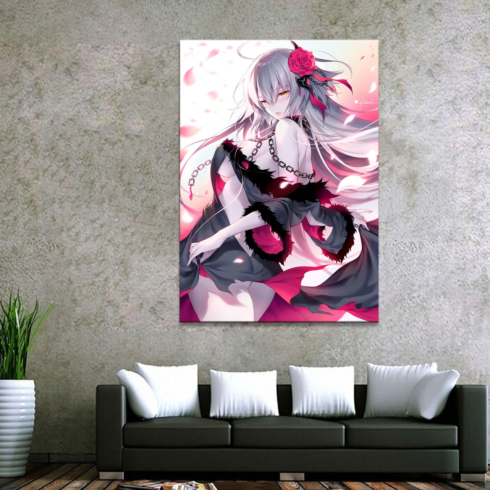 Bonitos Anime Fate Grand Order, imagen de diamante bordado, decoración para el hogar, pintura, taladro redondo completo, regalo de punto de Cruz, pared hecha a mano