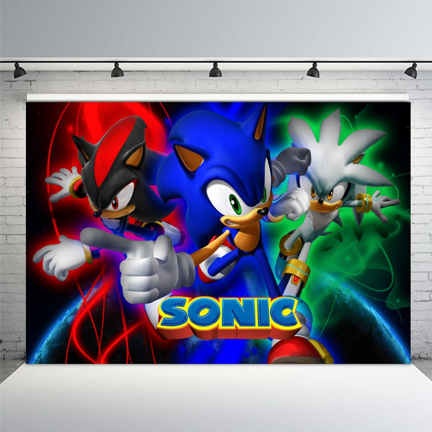 Neoback Background Photography Sonic The Hedgehog Miles Prower Rose Custom Photo Studio Background Backdrop Vinyl