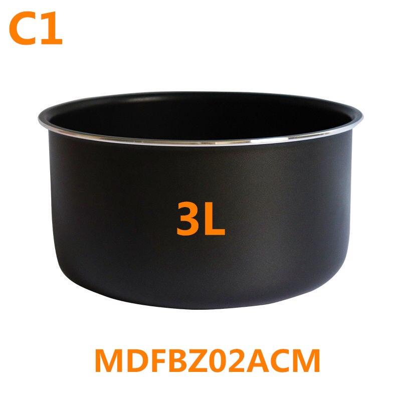 MDFBZ02ACM الأصلي الجديد 3L الأرز طباخ وعاء داخلي ل شاومي MIJIA C1 MDFBZ02ACM الأرز طباخ أجزاء