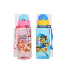Real patte patrouille tasse à eau pour enfants   Bouteille deau de Sport Portable de grande capacité, bouilloire en plastique TRITAN de sécurité