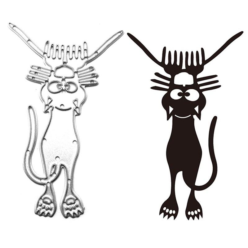 Metal Cat Cutting Dies DIY Decoration Home Card Scrapbooking Craft Paper Art