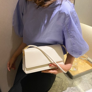 New Style Bag Womens Fashion French Style Bag Underarm Bag Simple Fashion Ladies One-Shoulder Womens Bags