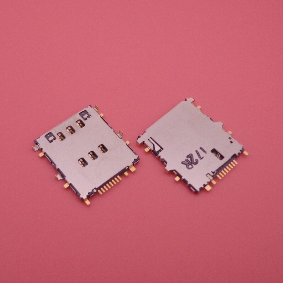 Ranura para lector de tarjetas SIM conector de soporte de bandeja hembra para Samsung Tab 3 P5220 P5200 P5210 T111 T355C T320 T325 T705C T705 macho