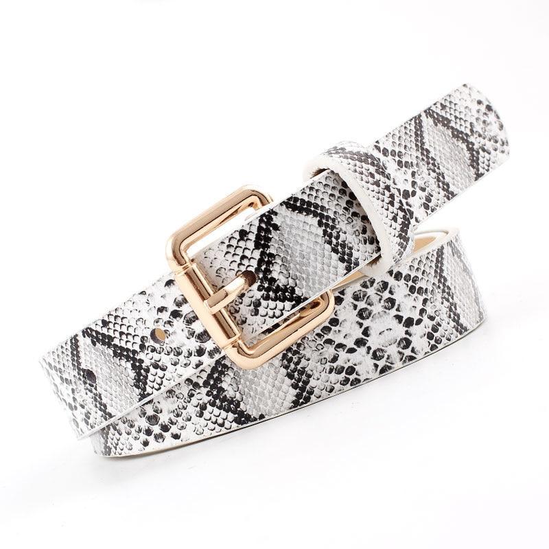 Ceintures de serpent en cuir de haute qualité pour femmes 2019 ceintures de créateur chaudes pour femmes