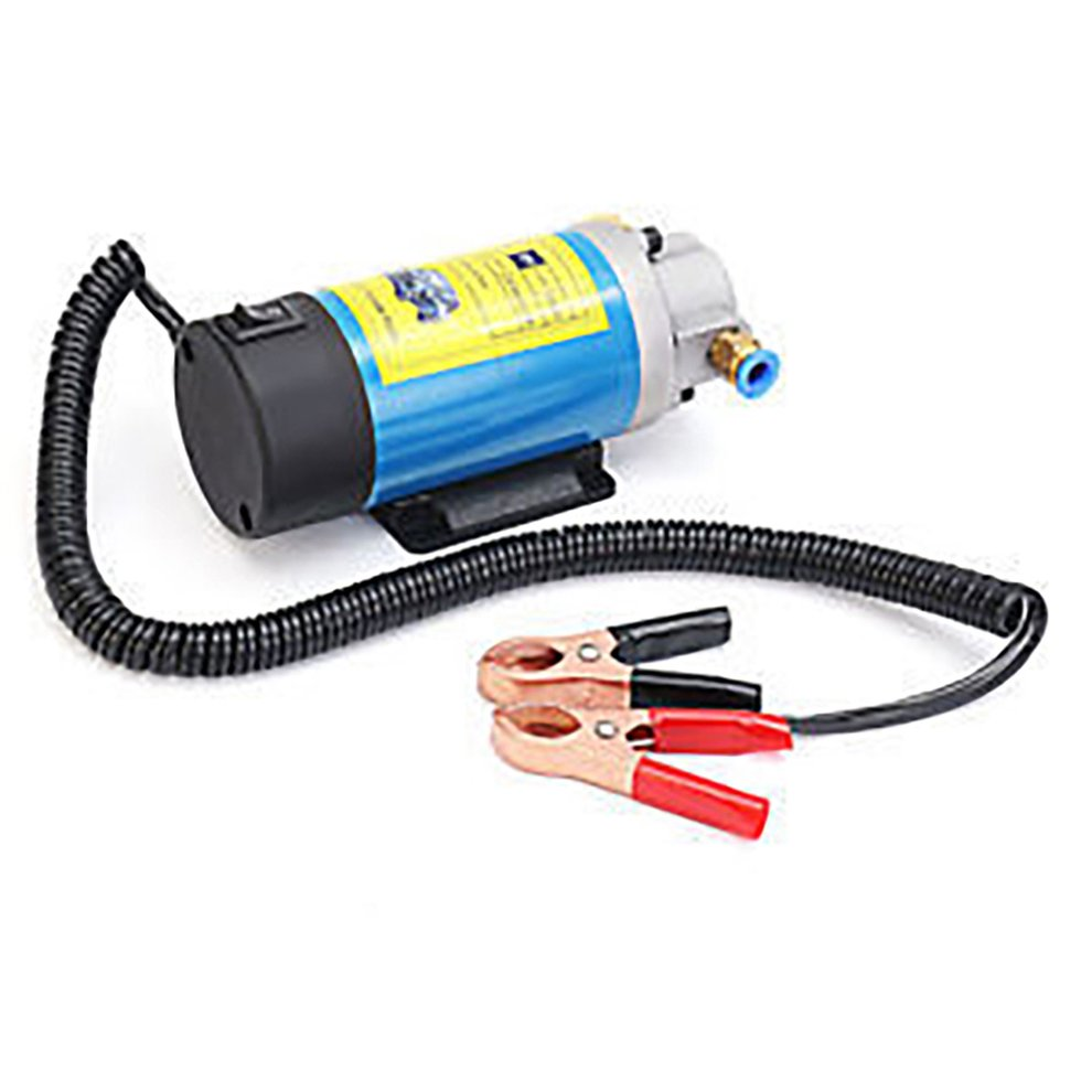 Bomba de combustível diesel 12v, bomba de óleo diesel sifão 100w 1-4l/min bomba de transferência de óleo 12v bomba de extração de óleo carro especial