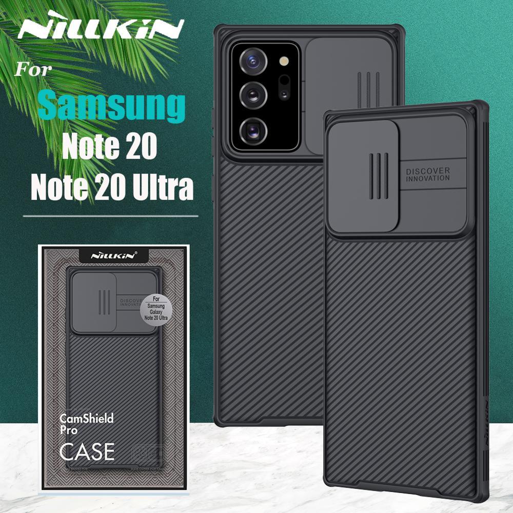 Funda protectora para Samsung Galaxy Note 20 Ultra Note 20 Nillkin Camshield para Samsung Note 20 5G