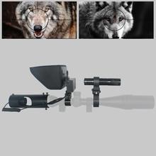 Nouveau Sniper extérieur chasse optique vision nocturne lunette de visée tactique fusil portée avec chargeur de batterie LCD et IR lampe de poche