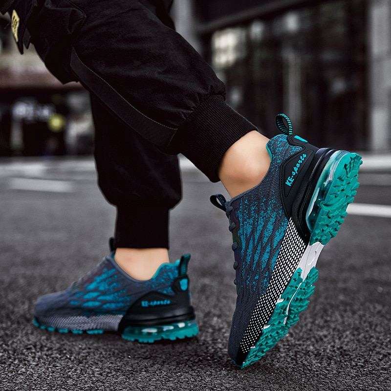 2021 New Professional Running Shoes for Men Outdoor Anti Slip Size 39-46 Sport Sneakers Air Breathab