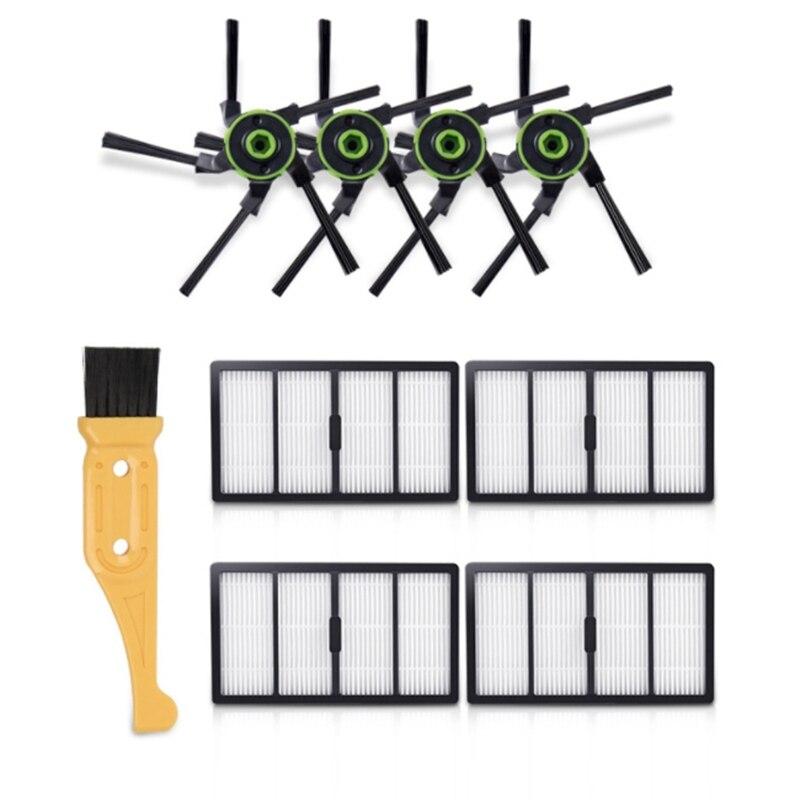 Brosses de rechange aspirateur brosse latérale filtre HEPA pour IROBOT ROOMBA S9 S9 + ing pièces de Robot